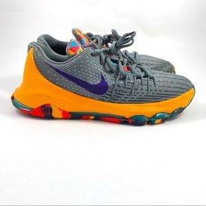 Youth Nike KD 8 GS PG County Basketball Shoes 6.5Y
